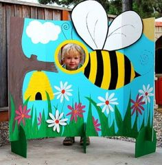Bumble Bee Photo Station - this would be fun for the family BBQ!