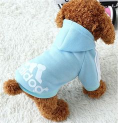 Type: Dogs Material: 100% Cotton Season: All Seasons Pattern: Solid Color: Pink Blue Black Red gray Season: Winter, spring, summer, autumn Store name: Pet Fashion Store Function: Keep Warm Leash Hole