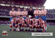 Granada CF 1970 71. Source  AS Futbol Español 0ec8e597bea31