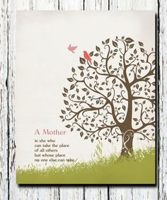 Christmas Birthday Gift for mom from children door WordsWorkPrints
