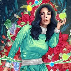Marina and The Diamonds artwork by Gabriel Marques (Mr GM)