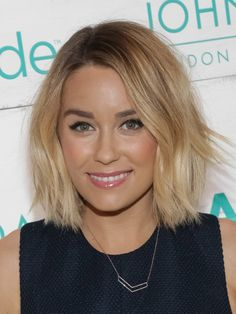 How to: Lauren Conrad's perfect beachy blonde bob via @stylelist | http://aol.it/1Cb4ROU
