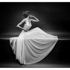 Mark Shaw black and white, dress, drape, sheer ru_glamour: Mark Shaw Photography picture on VisualizeUs