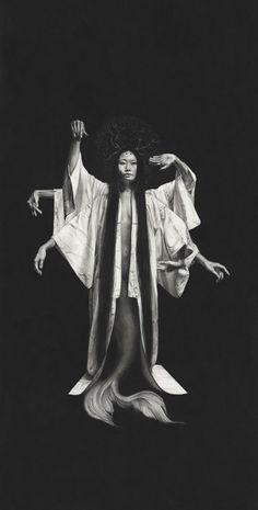 Juxtapoz Magazine - The Work of Stephanie Inagaki Sculpture Art, Sculptures, Witch Aesthetic, Dark Photography, First Art, Magazine Art, Akita, Designs To Draw, Dark Art