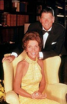 Ronald Reagan and Nancy Reagan