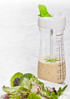 Salad Dressing To Go Bottle with Agitator ♡