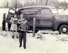 Rutland (Vermont) bookwagon, ca. 1940s.