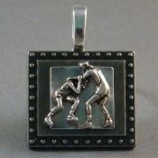 GREAT for wrestling mom's, grandmothers!  There is NEVER enough wrestling stuff out there!  Wrestling Jewelry