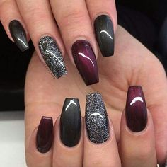 Nails trends The spring 2019 nail trends you need to know 00007 - - Spr. The spring 2019 nail trends you need to know 00007 - - Spring Nails - Get Nails, Fancy Nails, How To Do Nails, Colorful Nail Designs, Nail Art Designs, Winter Nail Designs, Nails Design, Nail Designs With Glitter, Holiday Nail Designs