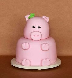 My next birthday cake? This Little Piggy, Little Pigs, Piggy Cake, Mini Pigs, Cute Piggies, Baby Pigs, Pig Party, Cute Cakes, Cakes And More