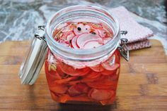 Pickles de rabanitos / Pickled radishes | Ñam ñam Nom nom