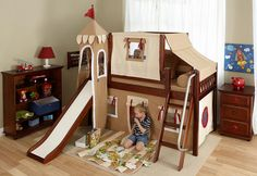 Frankie's Twin Fun Fort Loft Bed
