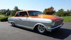 Find Of The Day: 1964 Chevy II Nova Custom Pro Street Click to Find out more - http://fastmusclecar.com/best-muscle-cars/find-day-1964-chevy-ii-nova-custom-pro-street/ COMMENT.