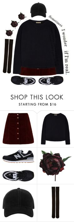 """Midnight"" by rachellepalosi ❤ liked on Polyvore featuring Tomas Maier, New Balance, rag & bone and Marieyat"