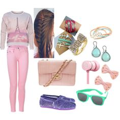 A fashion look from July 2013 featuring extra-long-sleeve shirts, buckle bootie and pink leather handbags. Browse and shop related looks. Pastel Macaroons, Pink Leather, Leather Handbags, Long Sleeve Shirts, Fashion Looks, My Style, Spring, Polyvore, Closet