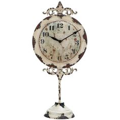 I pinned this Avignon Table Clock from the Whittier & Co. event at Joss and Main!