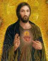 2012 Sacred Heart of Jesus art painting for sale; Shop your favorite 2012 Sacred Heart of Jesus painting on canvas or frame at discount price. Religious Icons, Religious Art, Religious Pictures, Image Jesus, Christ Pantocrator, Jesus E Maria, Jesus Painting, Heart Painting, Jesus Christus