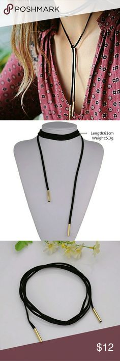 💥New Item💥 Black Velvet Choker Necklace Just in! Black velvet choker, perfect item for bundling! Jewelry Necklaces