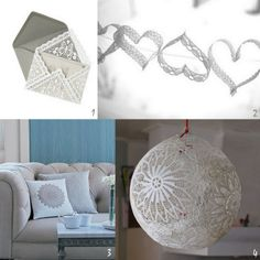 Doilies and Lace DIY Projects | DIYSelfies
