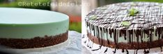 CHEESECAKE CU MENTA SI CIOCOLATA - Rețete Fel de Fel Food Cakes, Cheesecake Recipes, Desserts, Cakes, Tailgate Desserts, Deserts, Kuchen, Postres, Dessert