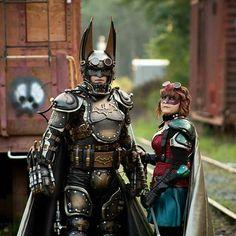 Steampunk'd Batman cosplay by hettel Steampunk Theme, Steampunk House, Steampunk Design, Steampunk Costume, Gothic Steampunk, Steampunk Clothing, Steampunk Fashion, Batman Cosplay, Geek Pride Day