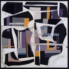 """Saatchi Art Artist Susan Washington; Collage, """"30 Montaigne II"""" #art"""