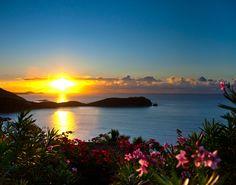 St. John, USVI sunrise