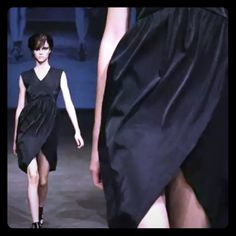 """The Perfect LBD RUNWAY Zambesi designer dress. In """"submarine"""" which is a very dark blue almost black. Like new never worn. Perfect LBD for holiday parties! Size US 10 /Med Dresses"""