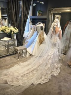 Steven Khalil Beaded Lace custom gown Wedding Dress On Sale Second Hand Wedding Dresses, Wedding Dresses For Sale, Steven Khalil Wedding Dress, Red Carpet Gowns, Yes To The Dress, Headpiece Wedding, Beaded Lace, Wedding Inspiration, Wedding Ideas