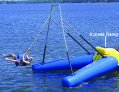 Image result for Boat Dock Rope Swing