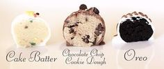 Landee See, Landee Do - Recipes for Cake Batter, Choco. Chip Cookie Dough, and Oreo Truffles