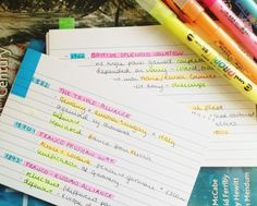 wordsobserver:  12:30pm Reviewing Flashcards on a Sunday - History 1 exam tomorrow :o