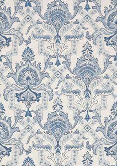 Sakara blue and white #Thibaut #Menswear