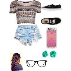 Alisha Marie by tfeldman on Polyvore featuring polyvore, fashion, style, Boohoo, Vans, Bling Jewelry and Muse