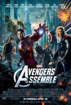 British poster for the renamed Avengers film.