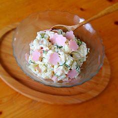 桜型ハム‼︎普通のポテサラです。 - 13件のもぐもぐ - ポテトサラダ by eggshell