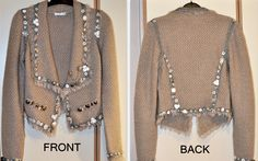 Squeeze the Pug: Chanel Jacket DO-IT-YOURSELF