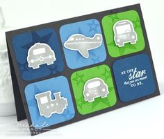 Be a Star Card (by nichole heady)