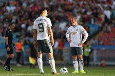 Ibrahimovic and Rooney - Manchester United