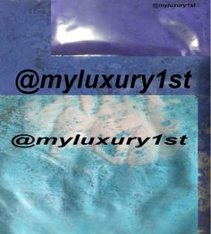 Neon 1.25g Samples Baby Blue Ultramarine Blue Violet Blue Soap pigment powders #MyLuxury1st