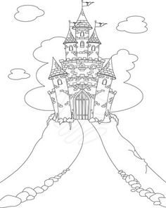 Christmas Castle Disney Coloring Books For Kids - Bugs Bunny Cartoon Pictures - Zimbio