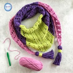 Spring Market Mod Scarf — Left in Knots