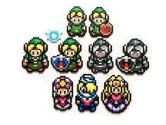 The Legend of Zelda - Ocarina of Time (1998) Perler Sprites (Read description before purchasing sets)