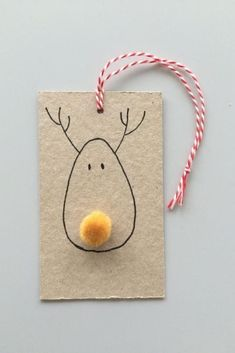 Reindeer Gift Tags | 'Tis the season for Christmas crafting. When they're made by your kids, Christmas crafts become family heirlooms, sweet memories of Christmases past. Get the kids involved with some DIY crafting this Christmas season, and make a few new ornaments to hang on your tree, plus knick-knacks, advent calendars, paper snowflakes, gift tags, and garlands. We have a few fun Christmas craft ideas for the whole family to enjoy. The kids are out of school and looking for…