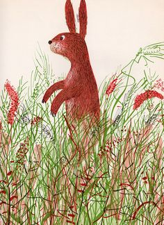 Under the Trees and Through the Grass - written by Alvin Tresselt, illustrated by Roger Duvoisin (1962).