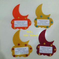Eid Crafts, Ramadan Crafts, Ramadan Decorations, School Decorations, Diy And Crafts, Crafts For Kids, Eid Activities, Preschool Learning Activities, Decoraciones Ramadan