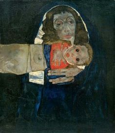 Egon Schiele | Mother and Child
