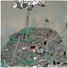 Secret histories map of San Francisco.