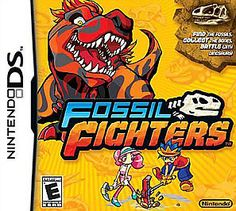 Buy Fossil Fighters for vivosaurs fighters - Nintendo DS at online store Lego Jurassic World, Video Game Memes, Video Games, Xbox 360, Nintendo Dsi, Nintendo Games, Dinosaur Fossils, Ds Games, Prehistoric Creatures