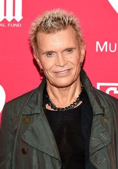Musician Billy Idol attends the 11th Annual Musicares Map Fund Benefit concert at Best Buy Theater on May 28, 2015 in New York City.